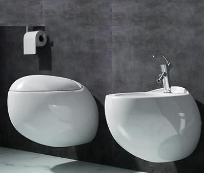 Swiss Madison wall hung toilet bow