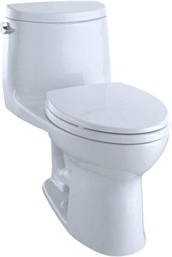 Toto Ultramax II MS604114CEFG#01 Elongated Toilet