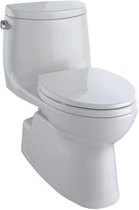 TOTO MS614114CEFG#11 Carlyle II One-Piece Elongated Toilet