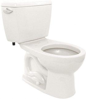 Toto Eco Drake CST743E#01 Two-Piece Toilet