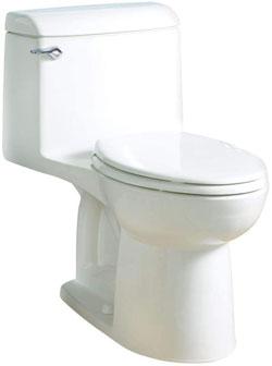 American Standard 2004314.020 Champion 4 One-Piece White Elongated Toilet