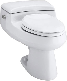 KOHLER K-3597-0 San Raphael Comfort Height Elongated Toilet