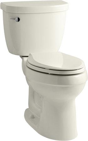 KOHLER K-3609-96 Cimarron Elongated Biscuit Color Toilet
