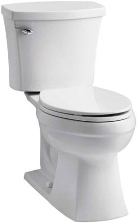 Kohler Elliston Comfort Height Two-Piece Elongated Toilet