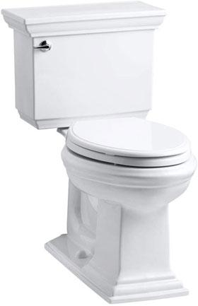 Kohler K-3819-0 Memoirs White Toilet