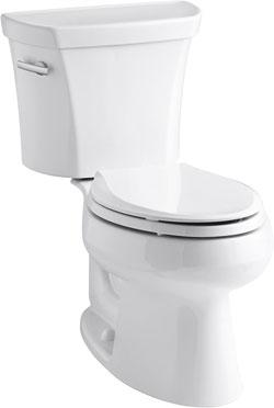 Kohler K-3998-0 Wellworth Elongated Toilet