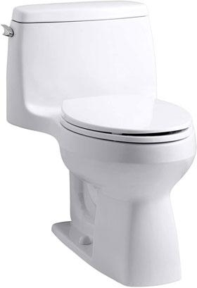 Kohler Santa Rosa K-10491-0 Comfort Height 1-piece Compact Elongated Toilet